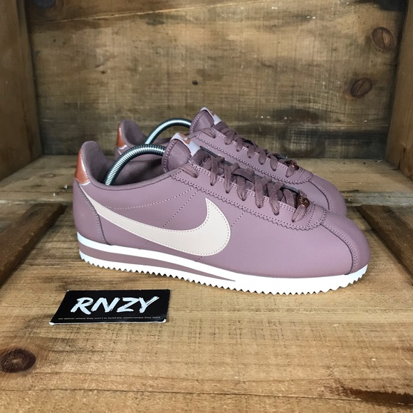 best website 109ee f289a NEW Nike Classic Cortez Mauve Leather